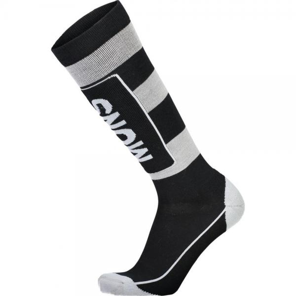 Sosete Mons Royale Mons Tech Cushion Sock Black / Grey
