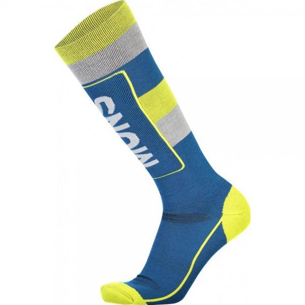 Sosete Mons Royale Mons Tech Cushion Sock Oily Blue / Grey / Citrus